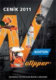 Ceník strojů a diamantových kotoučů NORTON Clipper